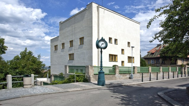Adolf Loos, Villa Müller, Prague, Czech Republic, 1930