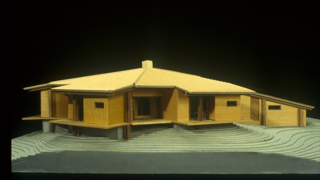 Albini, house for Olivetti, Ivrea, Italy, 1955