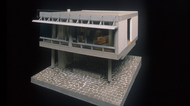 Marcel Breuer and Herbert Beckard, Starkey House, Duluth, Minnesota, 1954