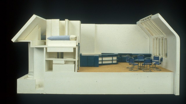 Wells Wintemute Coates, Studio flat, London, UK, 1935