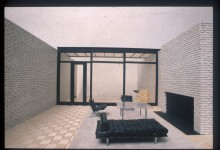 Philip Johnson, Rockefeller Guest House, New York (USA), 1950