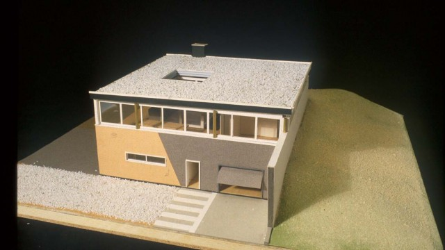 Rem Koolhaas, Patio Villa, Onderlangs 44-46,Rotterdam, Netherlands ,1984-88