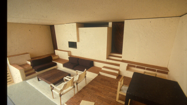 Boeri Architects, Bunker House, Abbatoggia, Italy, 1967