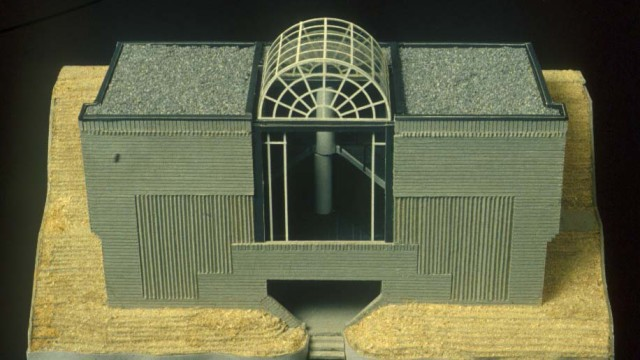 Mario Botta, Casa unifamiliare, Viganello, Switserland, 1981