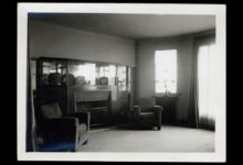 Francis Jourdain, Living room for Robert Draeger, France, 1928