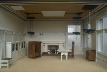 Mackintosh, Architect's appartment, Glasgow, United Kingdom, 1900