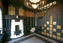 Mackintosh, Bassett-Lowke house, Northampton, United Kingdom, 1916