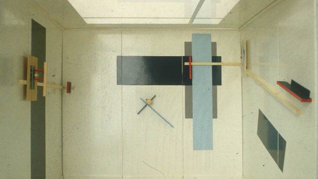 El Lissitzky, Proun room, Berlin, Germany, 1923